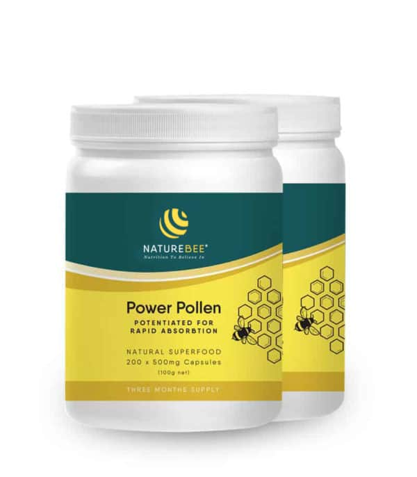 Power Pollen Partner Pack – 3 Month Supply for 2 people (400 caps)