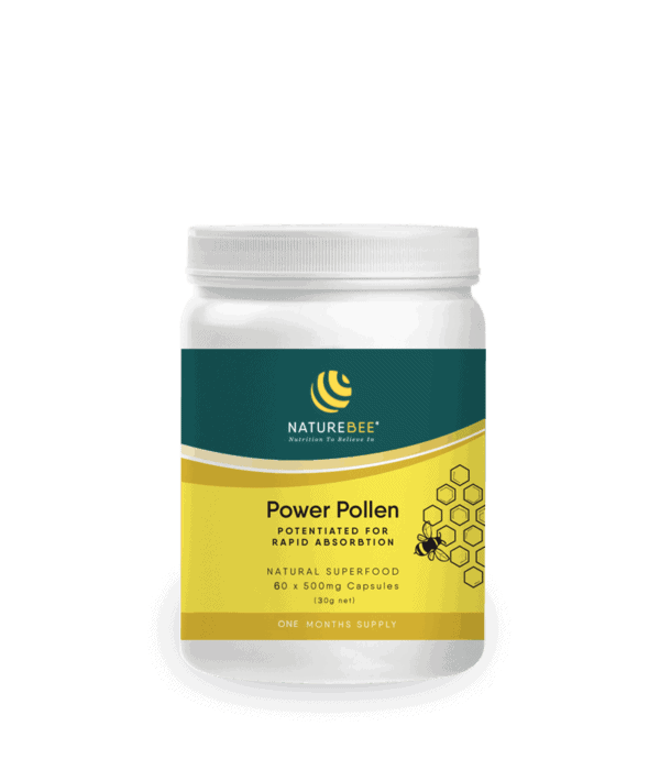 Power Pollen Introductory Offer – 1 Month Supply for 1 person (60 caps)