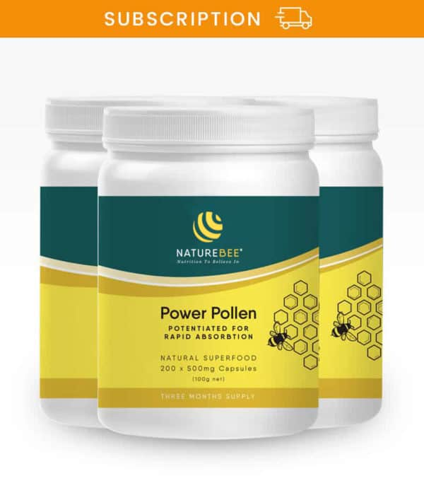 Power Pollen Family Pack (600 caps) – Subscription