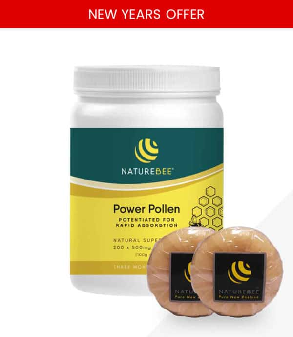 NatureBee Power Pollen Power Pack + 2 Soaps